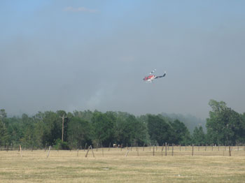 Aero Tech helicopters fighting fires in Texas 2011